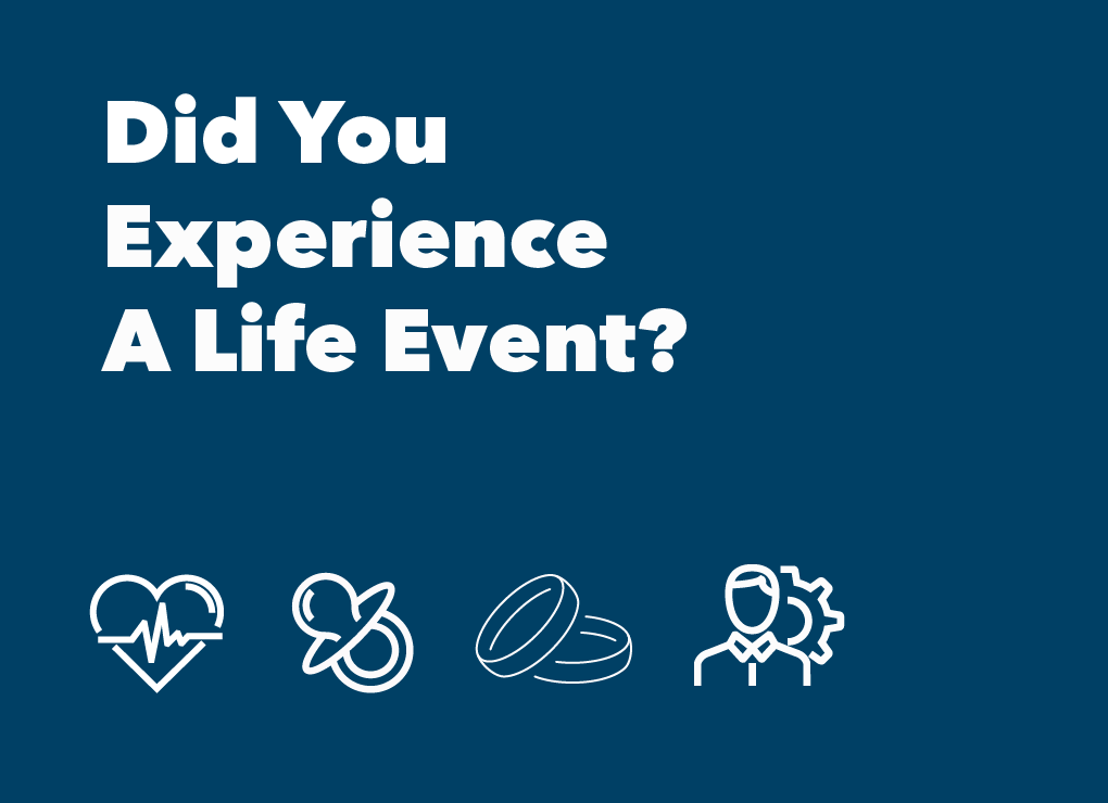 Did You Experience a Life Event