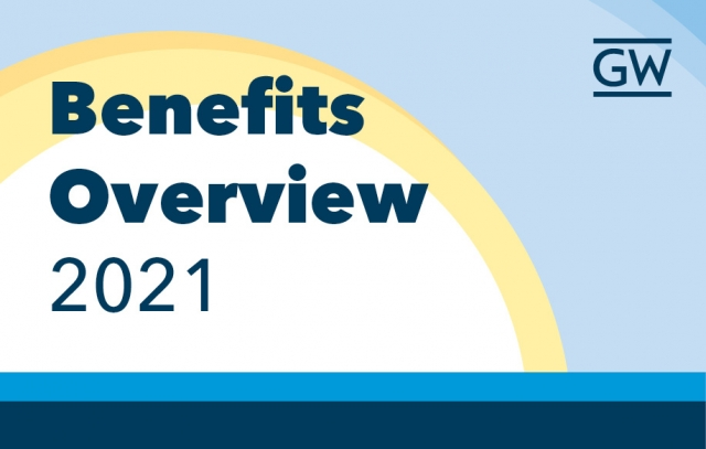 Sun with blue sky and text Benefits Overview 2021
